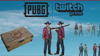 PUBG Hướng dẫn nhận set Gunslinger crate trên Twitch Prime hoàn toàn miễn phí