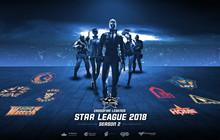 CFL Star League Season 2 2018: Black Wolf bay cao, Dragon chính thức là đội đầu tiên rời giải đấu