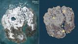 Hé lộ các điểm spawn đồ trong snow map sắp ra mắt của PUBG