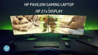 HP Pavilion Gaming 15 & HP 27x 27-inch: Bộ đôi hoàn hảo cho cả giải trí và công việc