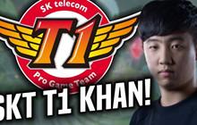 """LMHT: Khan """"mong muốn được vào SKT T1"""" trước cả khi được mời tuyển dụng"""