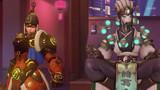 Overwatch tiếp tục tung ra skin Tết mới - Zenyatta Gia Cát Lượng và Brigitte Đại Tướng