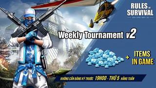 Tranh tài ROSM Weekly Tournament 19h tối nay với tổng giải thưởng lên đến 10000 GEM