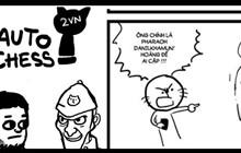 Cộng đồng Dota Auto Chess thú vị với truyện tranh Doraemon cà khịa cán bộ cực mạnh