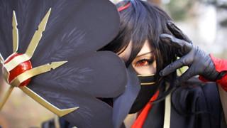 Âm Dương Sư: Chiêm ngưỡng bộ cosplay Hắc Đại Thiên Cẩu siêu đẹp đến hớp hồn