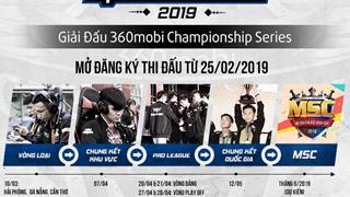 Mobile Legends Bang Bang khởi tranh 360Mobi Championship Series Mùa 2