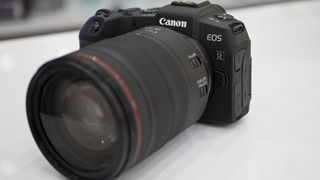 Trên tay nhanh Canon EOS RP Full Frame Mirorless