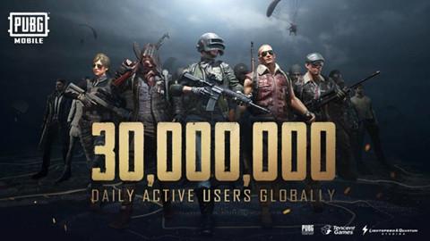 PUBG Mobile chính thức đạt cột mốc 30 triệu người chơi mỗi ngày
