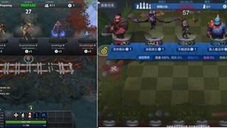 Auto Chess Mobile - Lại lộ ra thêm hình ảnh ingame với giao diện giống như Custom Map trên Dota