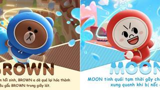 Boom M chuẩn bị ra mắt thêm 2 nhân vật mới đến từ Line vào game