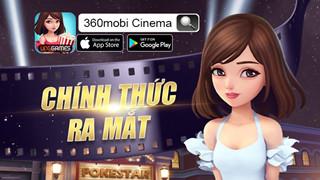 360mobi Cinema tặng code hỗ trợ game thủ sản xuất phim
