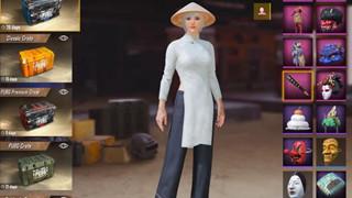 PUBG Mobile - Hướng dẫn chi tiết cách đổi trang phục nón lá và áo dài hoàn toàn miễn phí