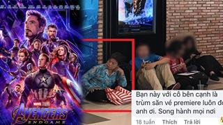 Fan U50 từ Tiền Giang lên Sài Gòn xem Avengers: Endgame hay trùm săn vé premiere?