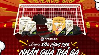Fifa Online 4: Tổng hợp các sự kiện đặc biệt hấp dẫn mừng lễ 30/4 - 1/5