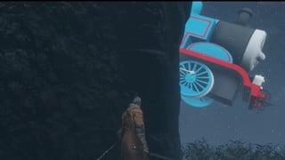 Xe lửa Thomas chạy từ Resident Evil 2 sang đến tận Sekiro: Shadows Die Twice