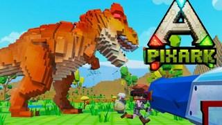 PixARK - Tựa game nuôi khủng long sinh tồn chuẩn bị ra mắt trên Steam