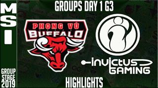 Phong Vũ Buffalo VS IG - Tuyệt đỉnh giao tranh khiến cộng đồng mạng hào hứng mãi không thôi