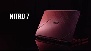Laptop gaming Acer Nitro 7: Thiết kế cực ngầu kèm theo nội lực mạnh mẽ