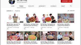 Bà Tân Vlogs kiếm được 12.000 USD mỗi tháng, thật hay chỉ là tin đồn nhảm?