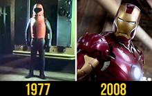So sánh hình ảnh ngày ấy và bây giờ của các Siêu Anh Hùng Marvel và DC trên màn ảnh nhỏ