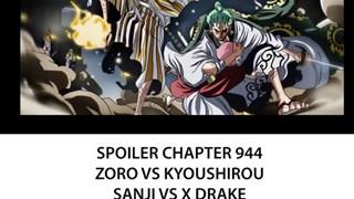 Spoilers One Piece Chap 944 chính thức: Cả đoàn Mũ Rơm đại chiến quân Orochi