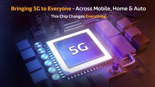 MediaTek chính thức công bố vi xử lý 5G cho smartphone cao cấp