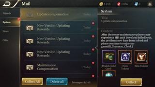 Arena of  Valor cập nhật phiên bản mới, tặng hàng đống quà cho game thủ phương Tây