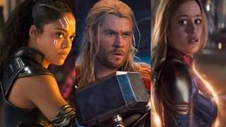 Liệu chuyện tình tay ba giữa Thor, Valkyrie và Captain Mavel có được đưa lên màn ảnh rộng hay không?