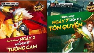 Danh Tướng 3Q – VNG hào phóng tặng trọn bộ Tướng Cam cho game thủ