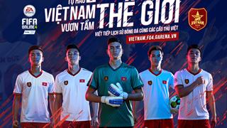 FIFA Online 4 ra mắt thêm 5 ngôi sao tuyển Việt Nam