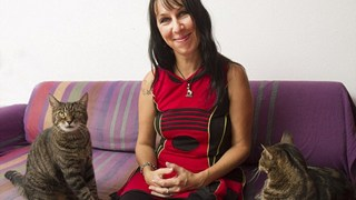 Quá chán nản với đàn ông, cô gái lấy 2 chú mèo cưng làm chồng. Họ đã kỷ niệm hơn 10 năm ngày cưới hạnh phúc
