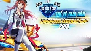 Công bố thể lệ chính thức giải đấu ZingSpeed Legends Cup 2019