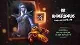 Dota Underlords: Chi tiết bản cập nhật ngày 18/06 - Nerf nhẹ Hunter và cân bằng sức mạnh trang bị đợt đầu