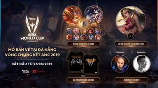 Mở bán vé offline Vòng chung kết AWC 2019 tại Đà Nẵng