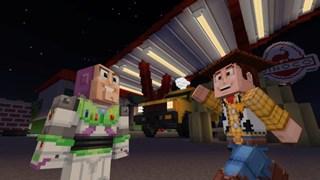 Khi Toy Story du nhập vào thế giới Minecraft