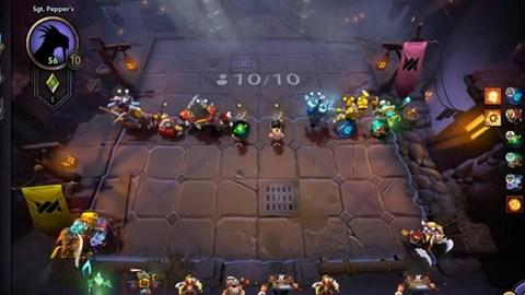 Dota Underlords: Hướng dẫn cách chơi Gamble và Eco với Scrapper và Inventor