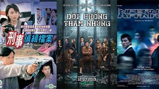 Điểm danh những tựa phim hình sự phá án đình đám của Hong Kong