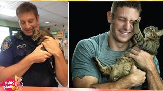 Một chàng trai nhận được hàng tá lời cầu hôn sau khi anh giải cứu và nhận nuôi 1 chú mèo