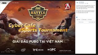 Giải đấu PUBG trái phép bị Thanh tra Sở TTTT Tp.HCM yêu cầu ngưng tổ chức