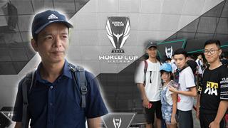 Từ Thái Bình, người đàn ông 43 tuổi dẫn bố và các con vào Đà Nẵng xem chung kết Liên quân Thế giới AWC 2019
