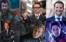Hé lộ mức cát xê của dàn diễn viên Avengers: Endgame, nhìn ai cũng thấy nghìn tỷ cả