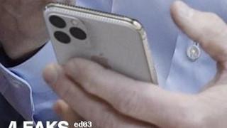 Lộ ảnh thật iPhone 11 với cụm 3 camera