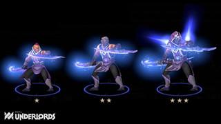 Dota Underlords - Xem qua nhưng thiết kế tạo hình tướng 2 sao 3 sao mới trong bản cập nhật kế