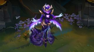 LMHT: Chiêm ngưỡng bộ skin Morgana Hắc Tinh siêu đẹp được thực hiện bởi người hâm mộ