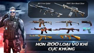 CrossFire: Legends: Giải mã sức mạnh bộ đôi vũ khí M4A1-Born Beast Silver và Anaconda-Born Beast