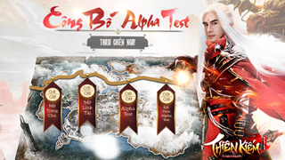 """Thiên Kiếm Mobile mở cửa Alpha Test 06/08, tặng quà """"siêu to khổng lồ"""" lên tới 100 triệu đồng cho cộng đồng game thủ"""