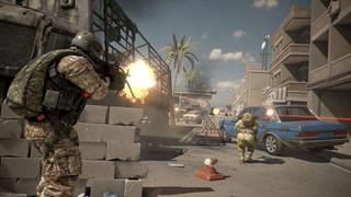 Nhà phát triển game World of Tanks vừa tung trailer tựa game bắn súng miễn phí mang tên Caliber