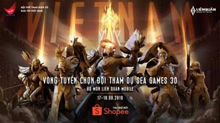 Liên Quân Mobile: Công bố thể thức Vòng tuyển chọn đội tuyển tham gia Sea Games 30