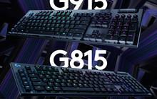 Logitech: Hãng vừa trình làng 2 bàn phím chơi game siêu mỏng, được hỗ trợ ánh sáng RGB tới 16,8 triệu màu