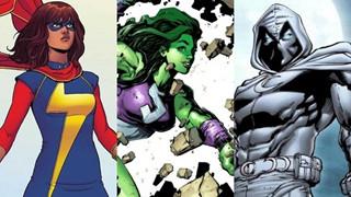 Disney+ mở đường cho bộ ba siêu anh hùng mới trong Giai đoạn 4 của MCU